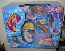 #2653 RARE NRFB Vintage Cap Toys MERWEES Rainbow Waterfall Bathtub Playset