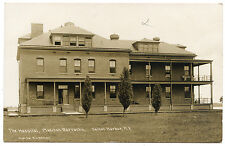RPPC NY Madison Barracks U.S. Army Sackets Harbor Brick Hospital