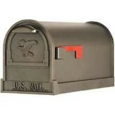 NEW SOLAR GROUP AR15T HEAVY DUTY BRONZE STEEL & ALUMINUM RURAL MAILBOX SALE NEW