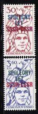 CHECOSLOVAQUIA/CZECHOSLOVAKIA 1978 MNH SC.2159/2160 Yuri Gagarin,space