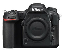 New Nikon D500 20.9MP DX DSLR Camera Body - 3 Year Warranty - Multiple Languages