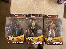 🔥WWE Legends Series 9 Lot Ted Dibiase Undertaker Tatanka Mattel🔥