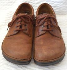 Birkenstock Brown Leather Ladies Lace Up Shoes Size 38