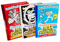 Rachel Renne Russell Misadventures Of Max Crumbly 3 Books