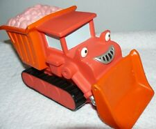 "2002 Hasbro Bob the Builder Rubber Red Talking Dump Truck 5"" x 9"""