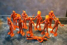 COMBEX MARX WW Wild West Vintage Group Lot Figures Various Poses ~9cm height