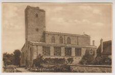 Gloucestershire postcard - Deerhurst, Saxon Church