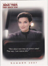 THE QUOTABLE STAR TREK DEEP SPACE 9 PROMO CARD P2 BY RITTENHOUSE