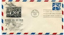 Machine Cancel US First Day Covers (1951-1960)