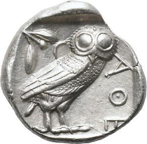 DIONYSOS Attika Athen AR-Tetradrachme Eule  #ML 1202