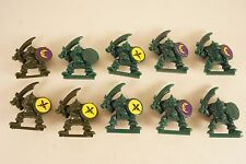 OOP 1992 Battle Masters ORC BOYS / WARRIORS x 10 - Warhammer Orruks / Orcs Lot 1