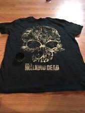 Walking Dead T Shirt Short Sleeve Youth Large & Bracelet Zombie