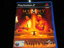 THE MUMMY RETURNS - PS2 - PLAYSTATION 2 - PAL Región - 11+