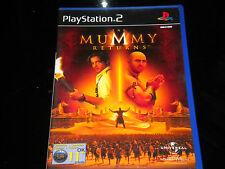 The Mummy Returns - PS2 - Playstation 2 - PAL Region - 11+