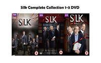 Silk Complete Series 1-3 Collection DVD Season 1 2 3 Original UK Release NEW R2
