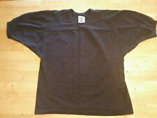 Vintage Russell Athletic Pro Cotton Football Shirt, Black Size Large, USA Made.