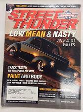 Street Thunder Magazine An Evil '41 Willys March/April 2006 050317nonr