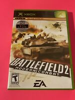 🔥 MICROSOFT XBOX - 💯 COMPLETE WORKING GAME 🔥BATTLEFIELD 2 Modern Combat 🔥