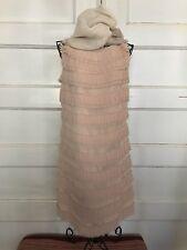 Ann Taylor flapper dress in blush NWT, very happy 20's sz0 & FREE SHIPPING!
