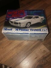 2006 Revell 1:24 Scale Motor-City Muscle '70 Pontiac Firebird 2 'n 1 New
