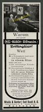 Emil Busch Optik Brillen Verkaufsraum Nitsche & Günther Rathenow Hohlwein 1927