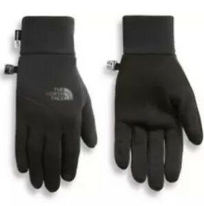 The North Face UNISEX Etip Glove TNF Black U/R Powered Touch Screen Tips XL NWT