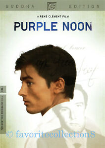 Purple Noon (1960) - Alain Delon, Maurice Ronet, Marie Laforêt (Region All)
