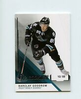 14/15 SP GAME-USED SPGU ROOKIE RC #118 BARCLAY GOODROW 10/89 SHARKS