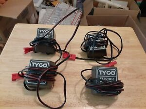 TYCO ELECTRIC RACING POWER PACK LOT OF 4 MODEL 610 C