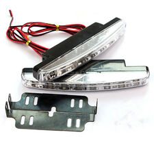 White LED Car DRL Driving Daytime Running Fog Lamp Bumper Lamps o For Toyota 2x