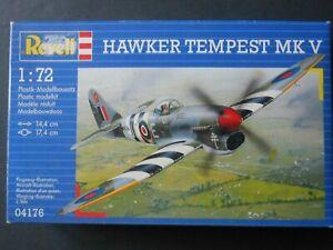 REVELL RAF HAWKER TEMPEST MK V 04176 1:72 Model Aircraft Kit