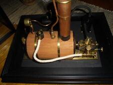 Live steam cheddar Puffin boiler engine set
