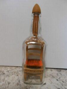 Chair In A Jack Daniels Bottle Signed 1983