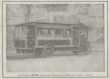 Z1936 OMNIBUS SPA - Pubblicità d'epoca - 1920 Old advertising