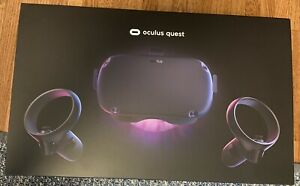 Used Oculus Quest 64GB VR Headset All-In-One game system black F/S