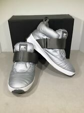 SOREL Out N About Puffy Women's Sz 7.5 Silver Ankle Winter Snow Boots X1-769