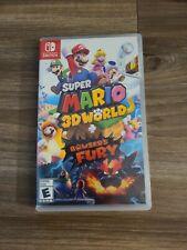 Super Mario 3D World + Bowser's Fury (Nintendo Switch) CIB COMPLETE IN BOX