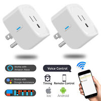WiFi Smart Plug Socket Outlet Adapter Alexa Google Home Remote Switch Control US