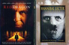 HANNIBAL 1-2-3: Red Dragon-Silence of the Lambs-Anthony Hopkins Trilogy-NEW 3DVD