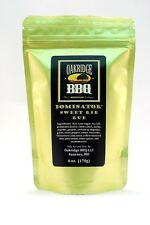 Oakridge BBQ Dominator Sweer Rib Rub 6oz Resealable Packet Barbecue Meat Spice
