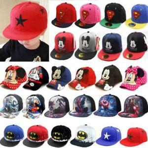 Baby Kinder Basecap Kappe Baseball Cap Jungen Sommerhüte Mädchen Snapback Hut DE