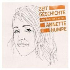 """ANNETTE HUMPE """"ZEITGESCHICHTE DAS BESTE..."""" 2 CD NEW+"""