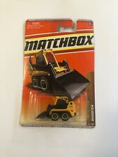 MATCHBOX Construction Skidster #39 2011. Bobcat Digger yellow. AS NEW IN BOX!