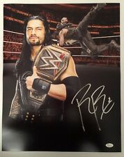Roman Reigns Signed Autographed 16x20  Photo WWE The Guy JSA Sticker Only 11