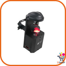 Testa mobile SCAN LED 12W DMX scanner festa discoteca proiettore rotante luce