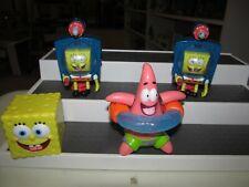 Sponge Bob & Patrick Burger King Meal Toys 2001 and 2006