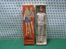 Residenz 100% Barbie Ken's Buddy Allan By Mattel Japan 1963