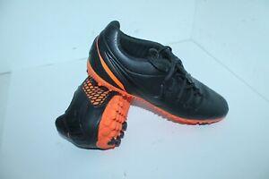 Nike 5 Bomba Finale Turf Indoor Black/Total ORANGE textured rubber instep