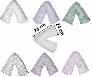 V Shape Orthopedic Pregnancy Nursing Support V Pillow Cushion Cover Maternity
