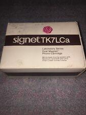 Audio Technica Signet TK7Lca Cartridge Stylus In Original Box